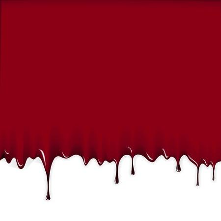 Bloody achtergrond Vector Illustratie