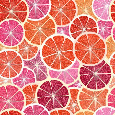 ripened: Grapefruit seamless big background