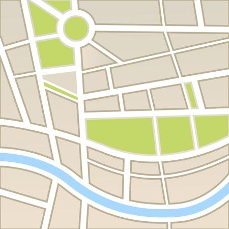 topografia: Antecedentes del mapa de la ciudad