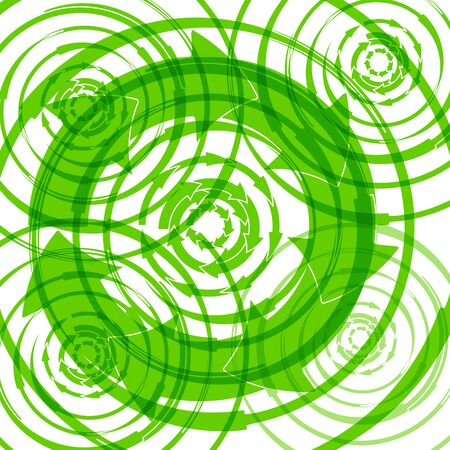 abstrakt: Abstract green background