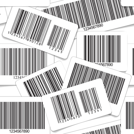 bars code: Barcodes monochrome seamless background