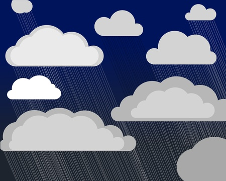 Storm clouds   Stock Vector - 11319742