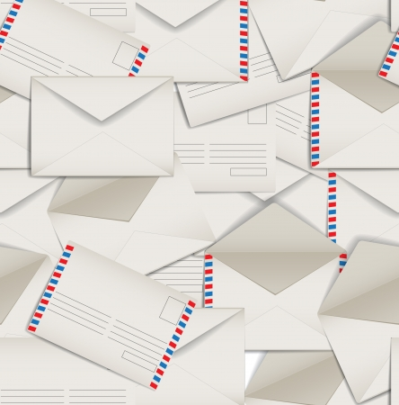 mail delivery: correspondence Illustration