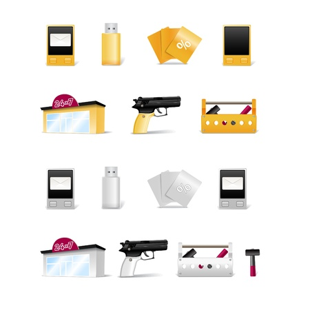 Modern stuff collection Stock Vector - 11319858