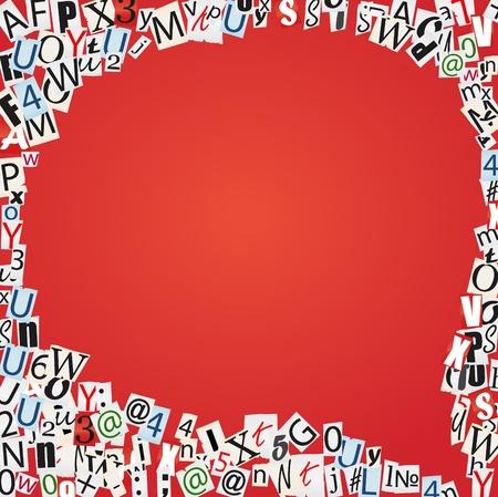 idiomas: Juego de las burbujas de hablar de las cartas de los peri�dicos y revistas