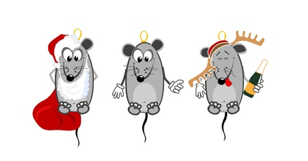 Mice collection Vector