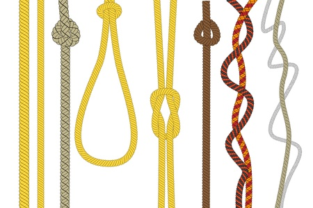 strenght:  Different size and color rope  Illustration