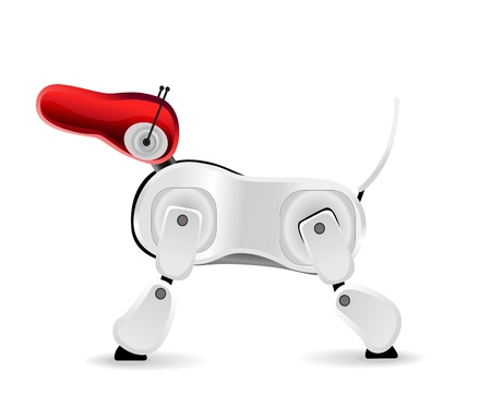 Electronic dog of future