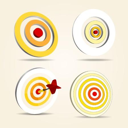 Dardos establecer objetivos
