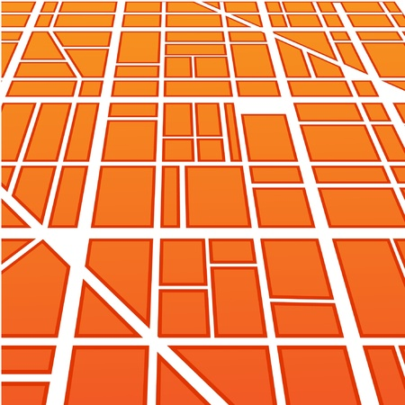 Abstract background of roads in perspective Vector