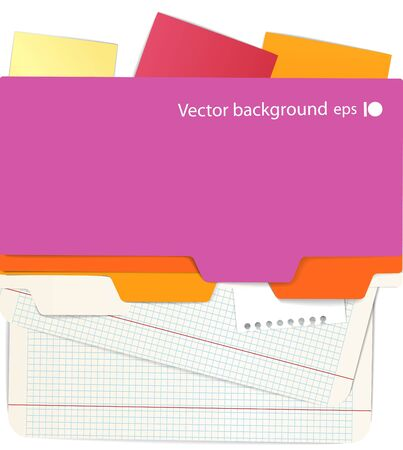 Background of an office stuff Stock Vector - 11333389