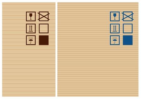 cardbox: Cardbox texture and post signs