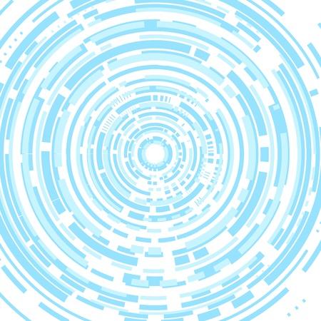 whiteblue: Techno abstract white-blue background