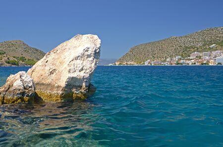 Rocks and a sea Stock Photo - 11372364