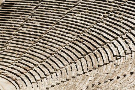 teatro antiguo: Tribunos antiguos del teatro en Grecia