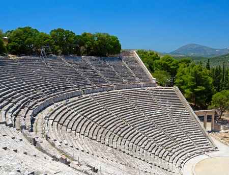 Old Theatre in Greece photo