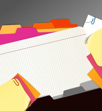 Background of paper stuff Stock Vector - 11333340