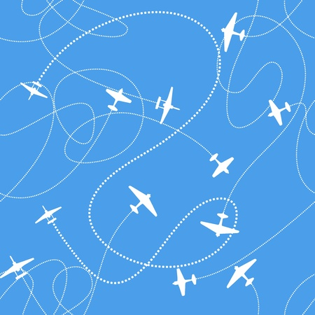 plumage: Airplanes background