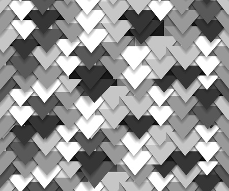 grey backgrounds:   Seamless background of grey abstract triangle waves