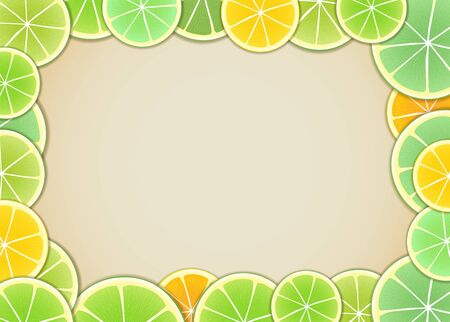 lime green background: Citrus background. Ready for a text