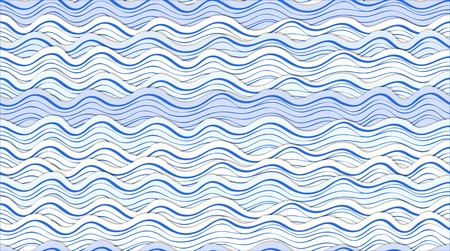 Seamless background of abstract waves Vector