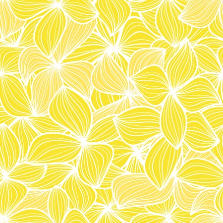 tilling: Yellow leaves seamless background