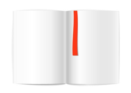 wright: Blank book pages and bookmark template for a content