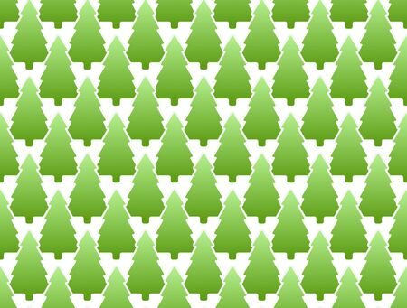 Seamless background of pine Vector
