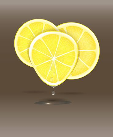 squeeze: Citrus background Illustration