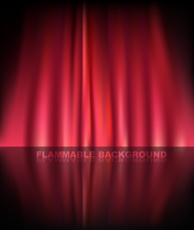 Abstract curtain baclground Stock Vector - 11430948