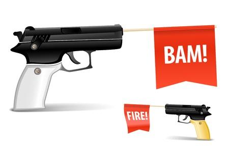 ammo: Toy gun Illustration