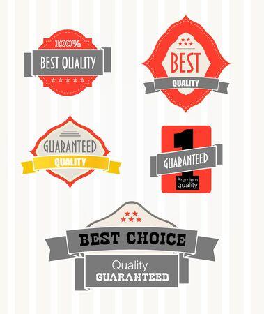 best price: Vintage shopping labels and logo clip-art Illustration