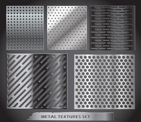 metal net: Metal neto colecci�n Vectores