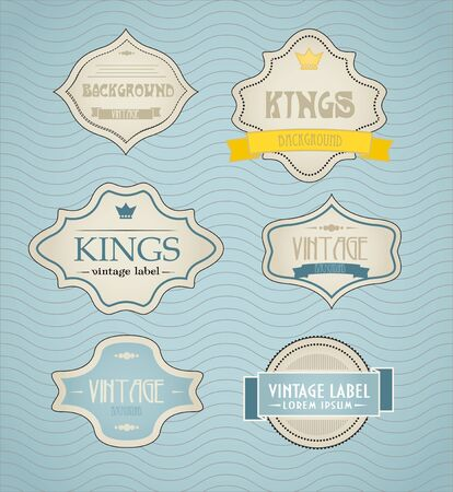 vintage labels, discount labels set Stock Vector - 11430922