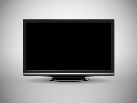 modern High Definition tv-set  Vector