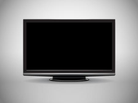 modern High Definition tv-set Stock Vector - 11595593