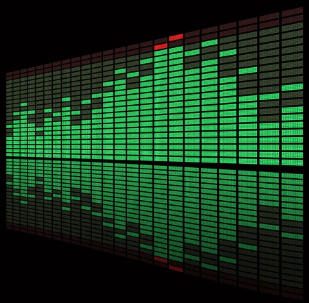Graphic equalizer Vector