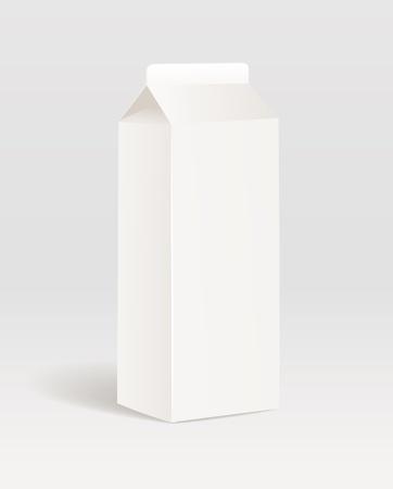 cream paper: Paper milk product container