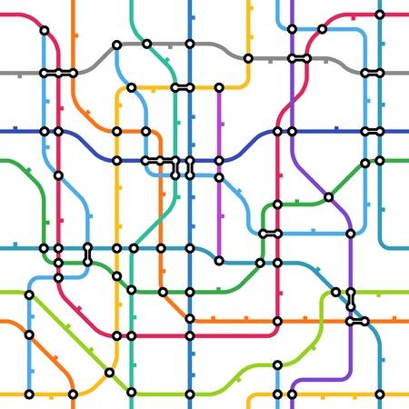 추상적 인 색 지하철 방식 원활한 배경