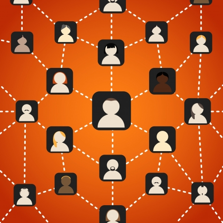 chineese: Scheme of social network