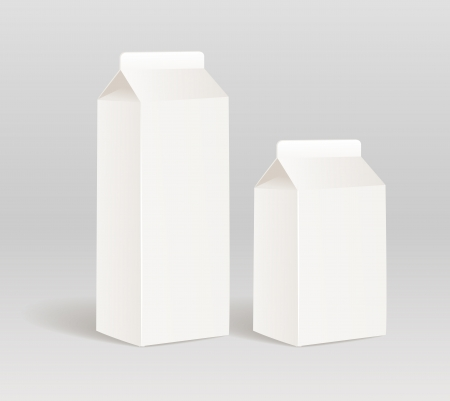 pasteurized: Paper milk product container