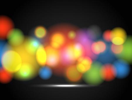 Tóm tắt nền của vòng tròn màu sắc rực rỡ Hình minh hoạ
