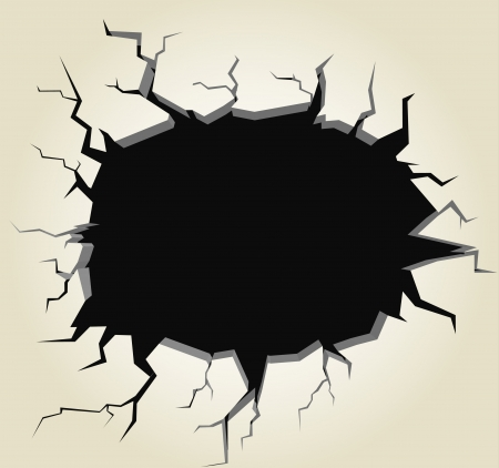 hole in the wall: Hole in the wall  Template for a content Illustration