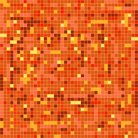 Abstract background of mosaic elements Stock Vector - 15118454