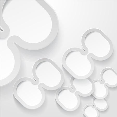 Abstrac ellipse frames background Stock Vector - 15118480