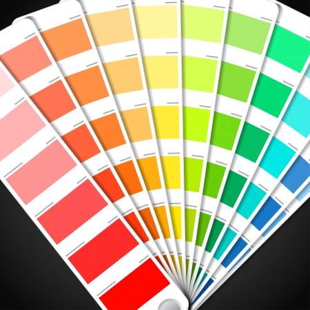 Color palette guide  Vector
