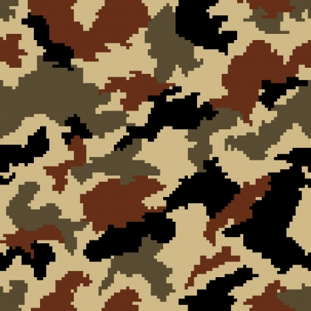 Camouflage seamless background Vector