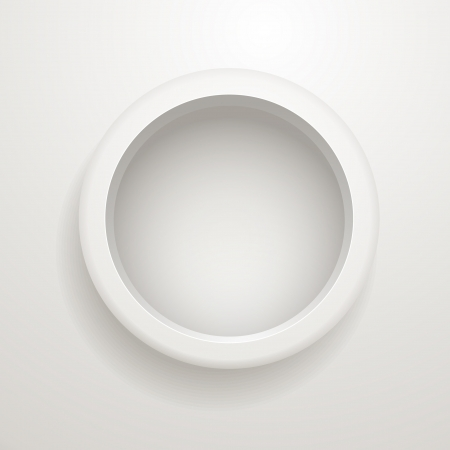 Abstract background of grey circle  Template for a text Stock Vector - 15468917