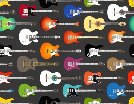 guitarra acustica: De fondo sin fisuras de ac�stica color y las guitarras el�ctricas