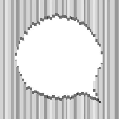 Abstract speech clous Stock Vector - 16176517
